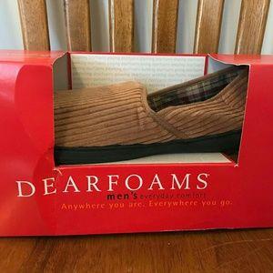 Dearfoams Mens Slippers